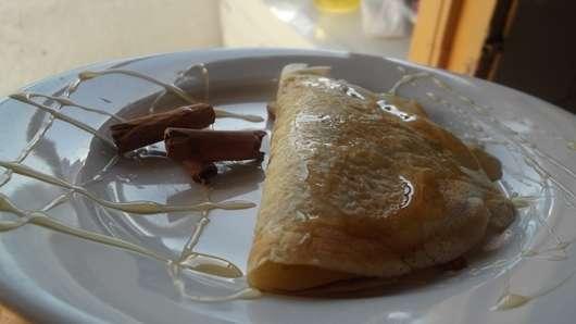Panqueque De Almendras-miel-castanas