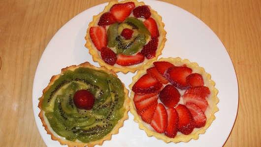 Receta Tarta Frutales