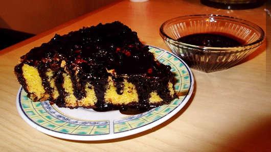 Torta De Zanahoria Con Chocolate