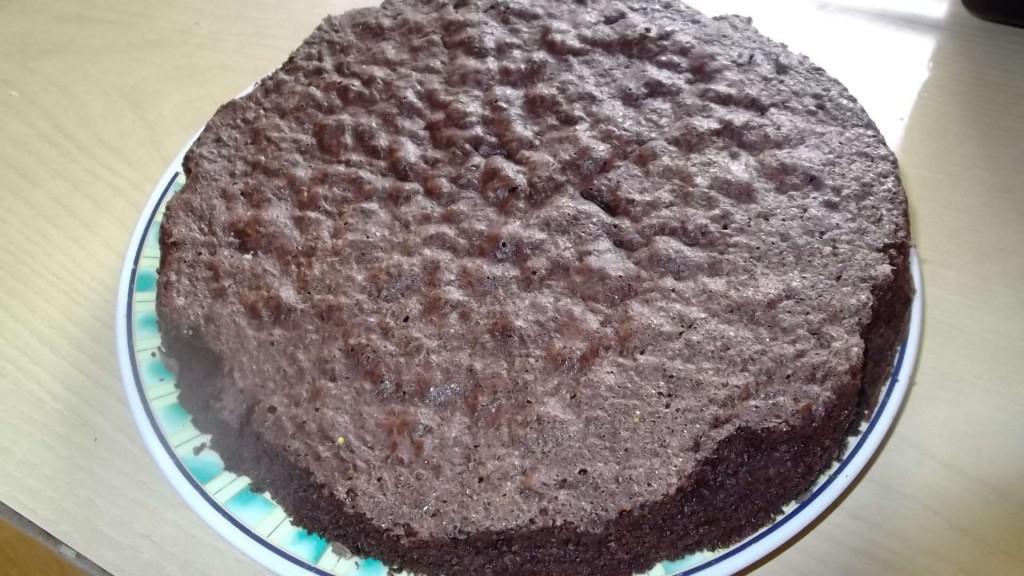 bizcochuelo de chocolate pronto