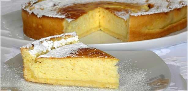 torta de ricota y naranja