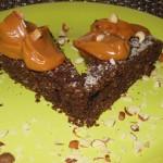 Torta de chocolate y coco